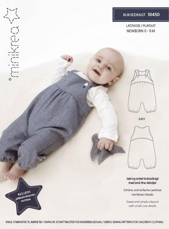 10450 Playsuit - paper pattern | Minikrea