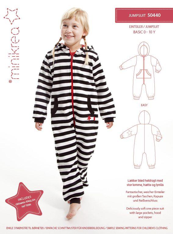 50440 Jumpsuit - paper pattern | Minikrea