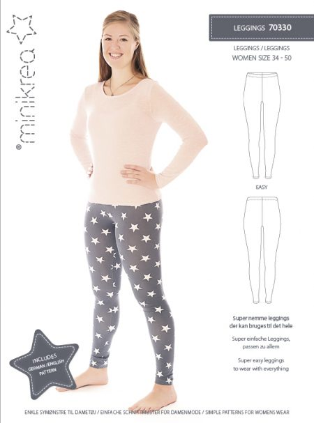MiniKrea 70330 Leggings til damer