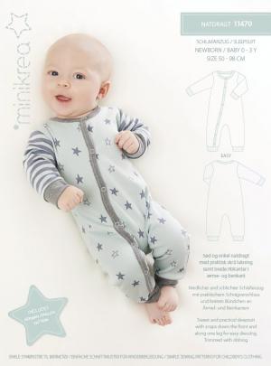 MiniKrea 11470 Natdragt i jersey til baby