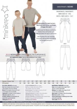 MiniKrea 66340 Sweatpants Stylecard