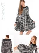 MiniKrea 70046 Jersey Kjole med læg Model Fotos
