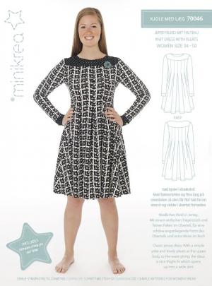 MiniKrea 70046 Jersey kjole med læg Forside