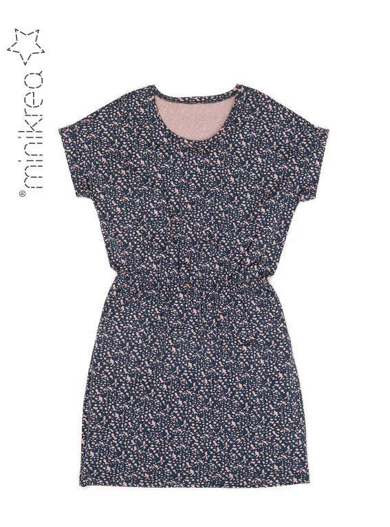 MiniKrea Dolman Jersey Dress 70050_Fladfoto