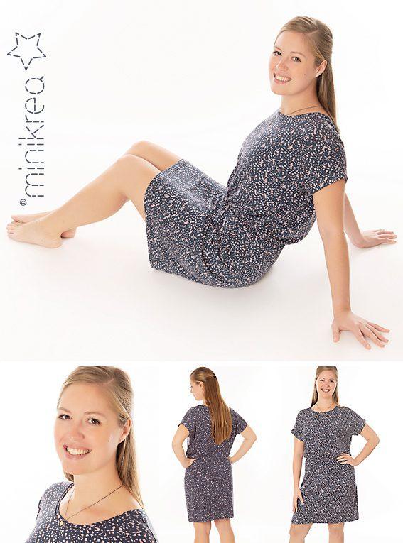 MiniKrea Dolman Jersey Dress 70050_Model fotos