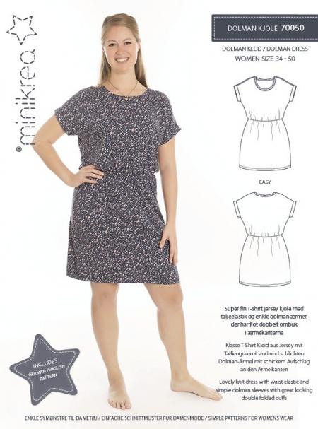 MiniKrea Dolman Jersey Dress 70050_Produkt foto