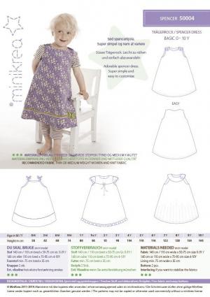 Spencer kjole stylecard