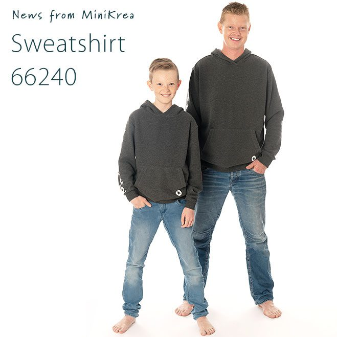 News Sweatshirt 66240 MiniKrea