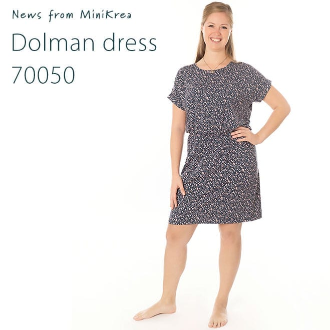 News Dolman Dress 70050 MiniKrea