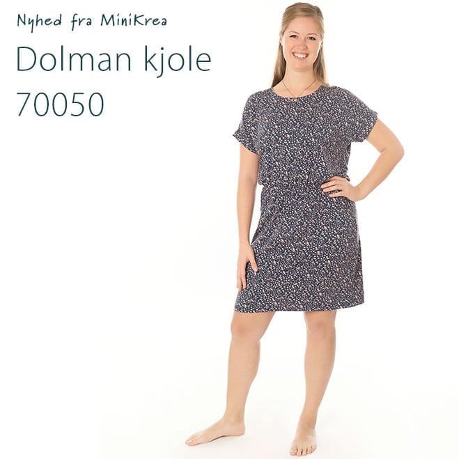 Nyhed Dolman Kjole 70050 MiniKrea