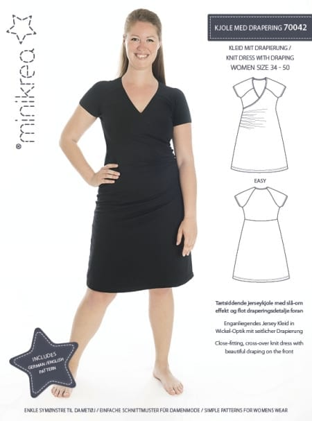 MiniKrea 70042 Dress Sewing Pattern