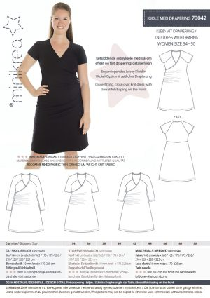 MiniKrea 70042 Dress Stylecard