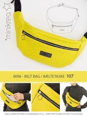 107 belt bag - bæltetaske