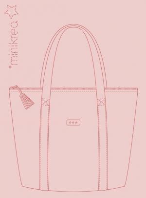108 Tote bag - taske med lynlås - stylecard