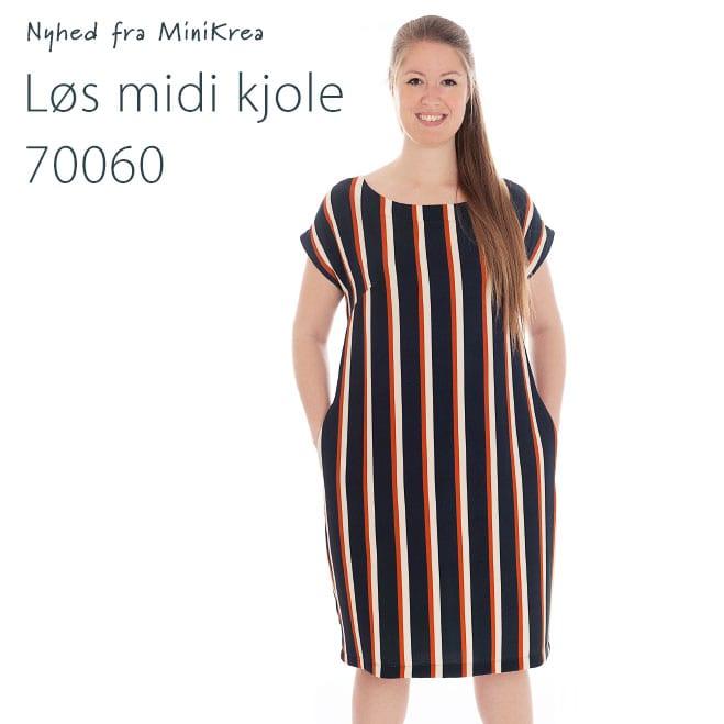 MiniKrea 70060 loes midi kjole_Nyhed