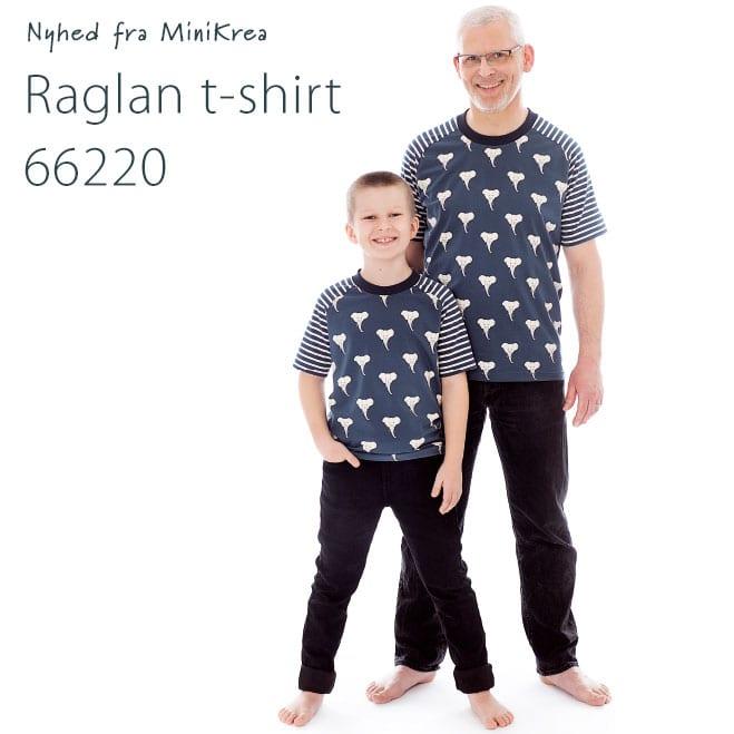 MiniKrea 66220 Raglan T-shirt_Nyhed