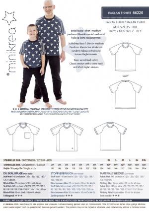 MiniKrea 66220 Raglan T-shirt_Stylecard