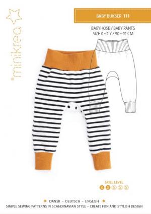 MiniKrea 111 Baby Pants - Forside