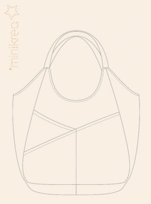 MiniKrea 112 Shoulderbag - Stylecard