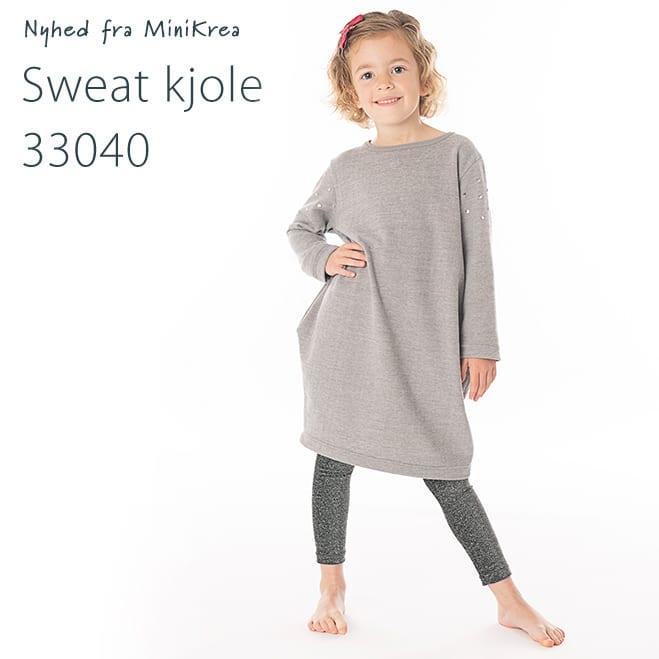 MiniKrea 33040 Sweat Kjole Nyhed