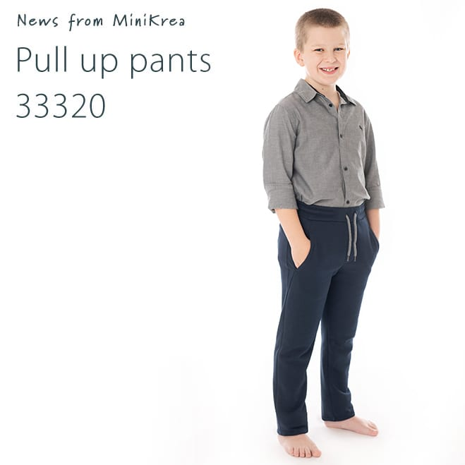 MiniKrea 33320 Pull Up Pants Nyhed