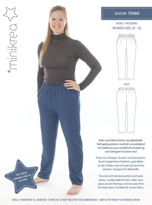 MiniKrea 70360 Trousers Sewing Pattern