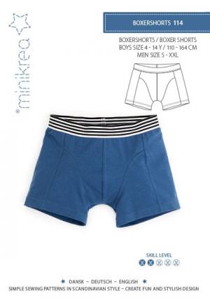 MiniKrea-114 Boxer shorts Pattern