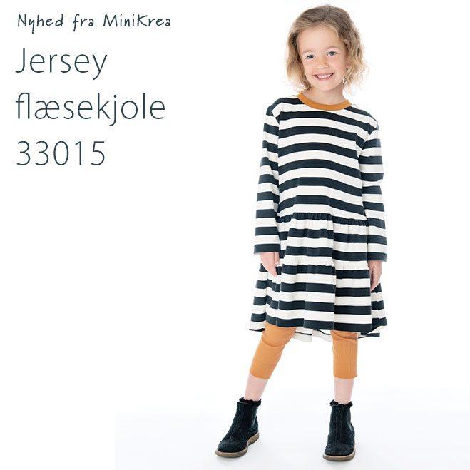 MiniKrea 33015 Jersey Ruffle Hem Dress_Nyhed