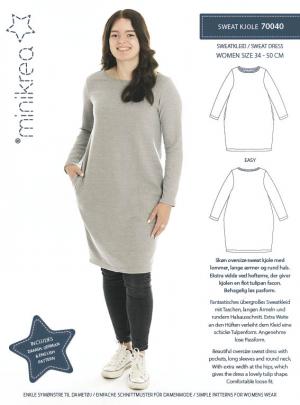 MiniKrea 70040 Sweat Dress_Sewing pattern