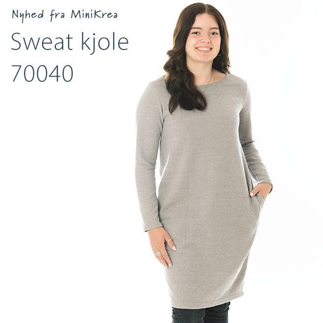MiniKrea 70040 Sweat Kjole_Nyhed
