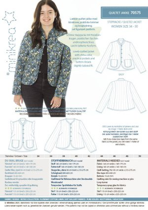 MiniKrea 70575 Quilted Jacket_Stylecard